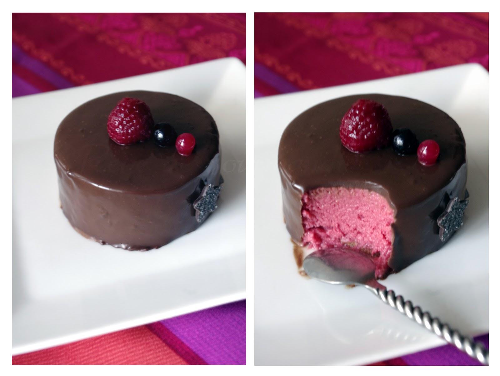 r ve de gourmandises 2 entremets fraise chocolat sans lactose. Black Bedroom Furniture Sets. Home Design Ideas