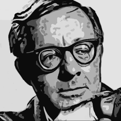 Ray Bradbury portrait