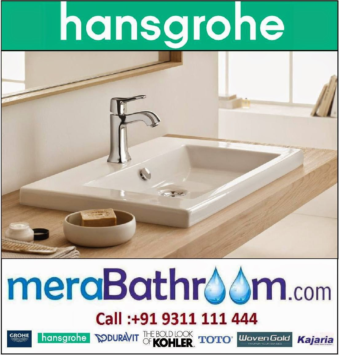 jaquar experience bathing hansgrohe metris classic basin mixer. Black Bedroom Furniture Sets. Home Design Ideas