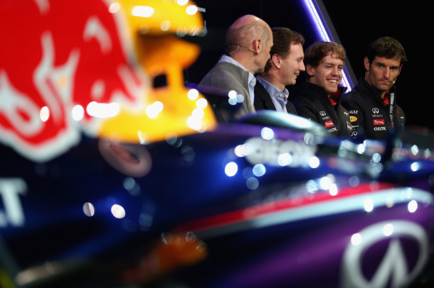 Launching Red Bull RB9