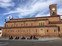 Inaugurazione di piazza Santa Maria di Castello