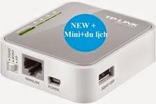Bộ phát wifi Mini Tplink MR3020