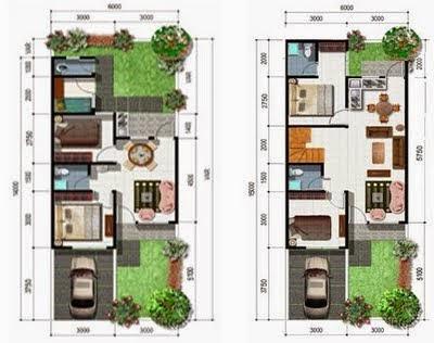 ruangan rumah type 36