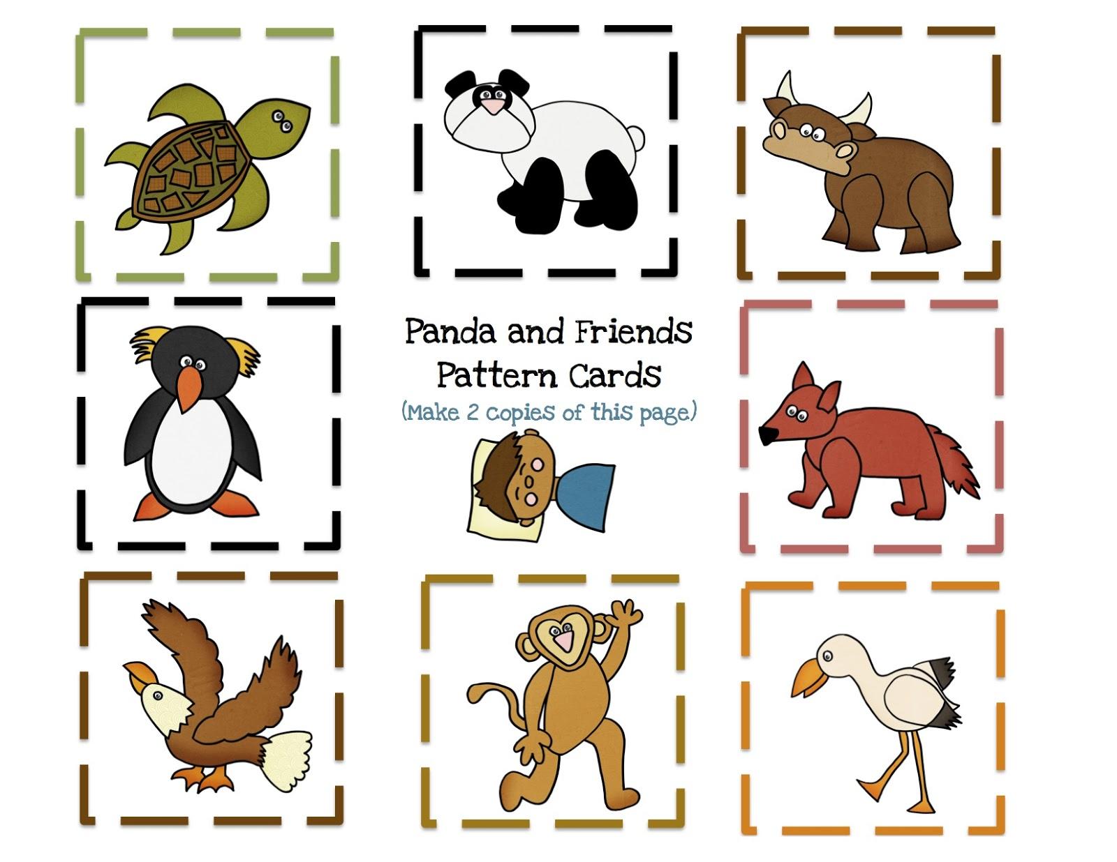 Polar Bear Polar Bear What Do You Hear Flannel Printables | New ...