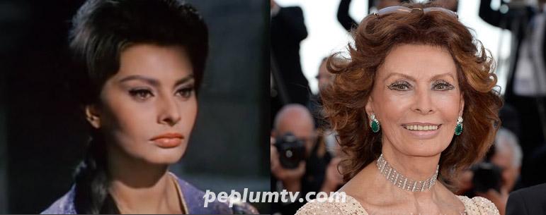 Peplum Tv Then Now Sophia Loren