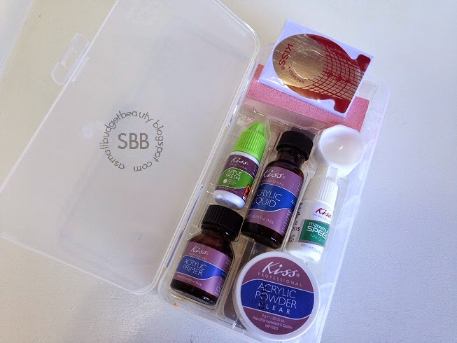 Small Budget Beauty: Review: Kiss Complete Salon Acrylic Kit