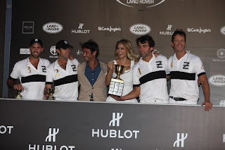 Alba Carrillo Hublot Polo Sotogrande