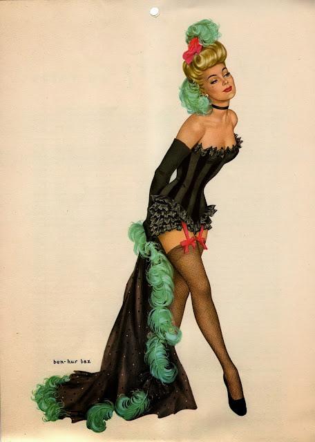 Another calendar girls – Esquire, 1948