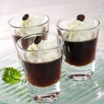 Resep masakan - Cara membuat Puding Kopi Lapis Krim