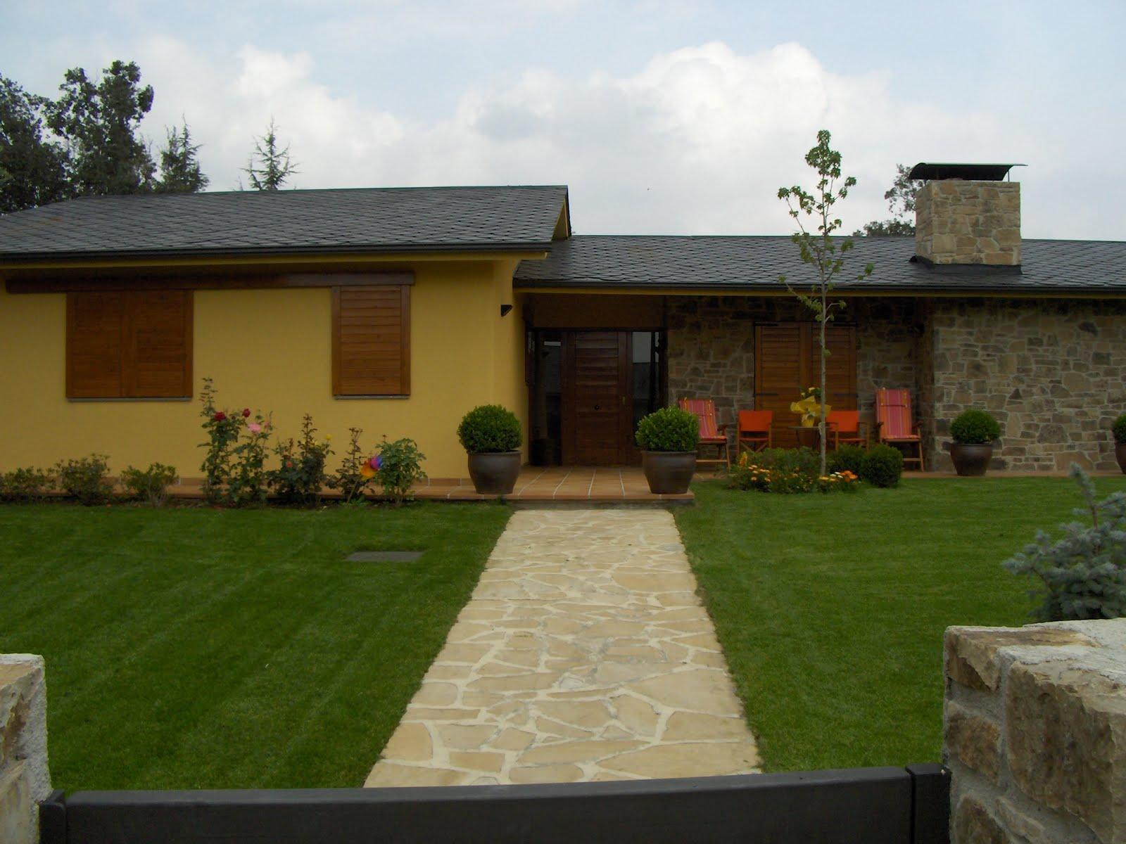 Jardines de casas pequeas fresh imagenes de modelos de for Jardines casas modernas