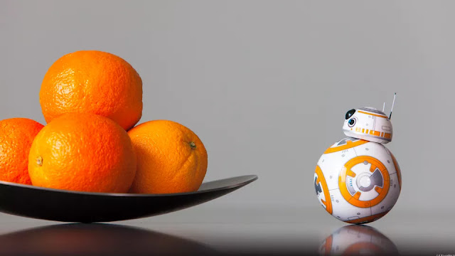 Sphero BB-8 Droid and Oranges