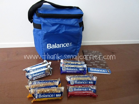 Balance Bar summer travel