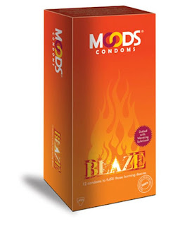 Moods Blaze Condoms