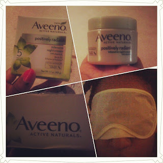 Aveeno Positively Radiant Intensive Night Cream Review - Bernetta Style