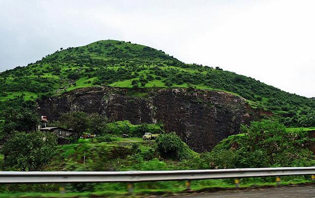 stone quarry near highway