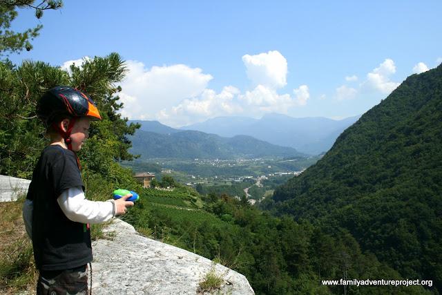 Hills beyond Trento