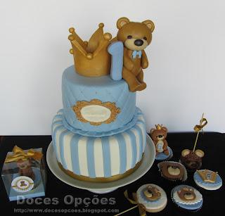 O primeiro aniversário do Guilherme
