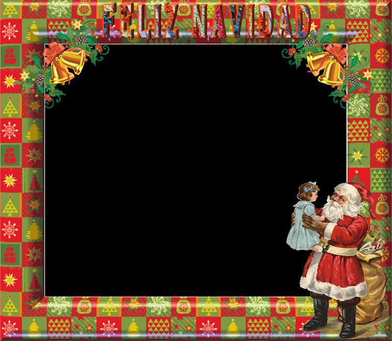Blog cat lico navide o marcos para fotos con motivos de navidad - Marcos transparentes ...
