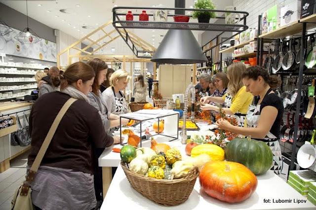 dynia , o dyni , warsztaty , pokaz kulinarny , centrum handlowe , sklep , à Tab , zaproszenie , spotkanie , dyniowe opowieści , najlepsze blogerki kulinarne , kreatywne