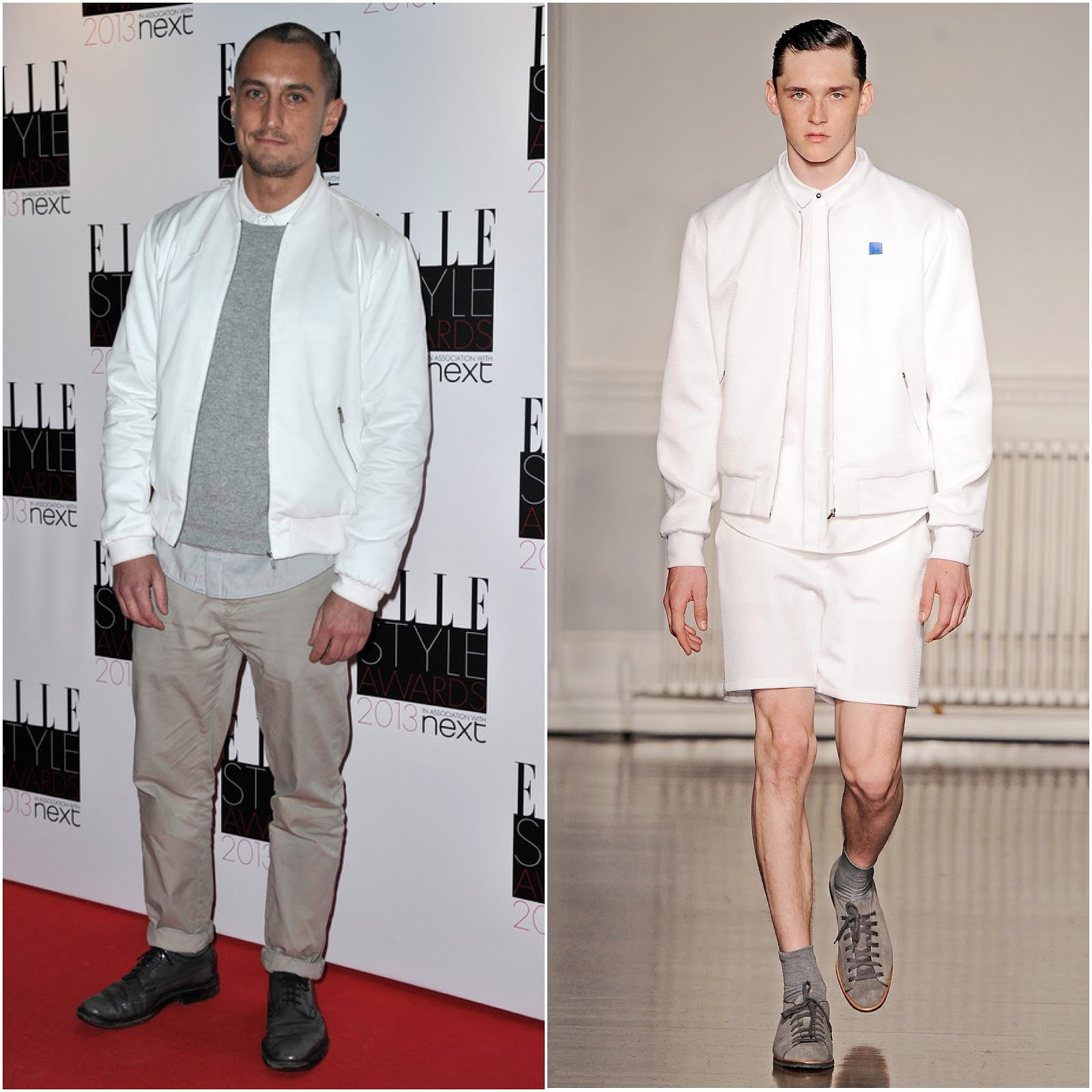 00O00 Menswear Blog Richard Nicoll in Richard Nicoll - 2013 Elle Style Awards