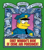 Chief Wiggum's Book of Crime and Punishment book cover