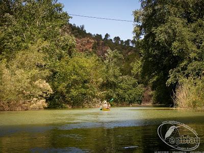 foto del riu canaletes en caiac