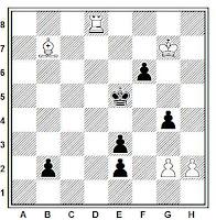 Estudio artístico de ajedrez de José Mugnos (42)
