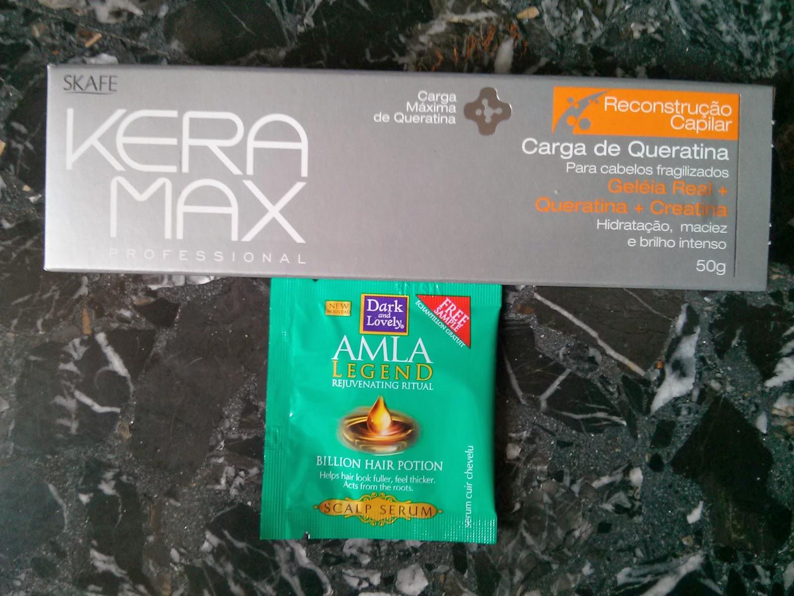 Carga Keratina Reconstrucción Keramax de Brasil y Belleza