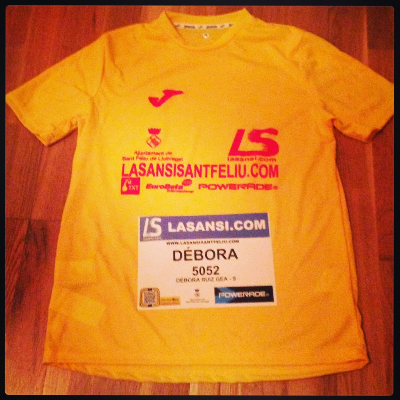 camiseta lasansi sant feliu