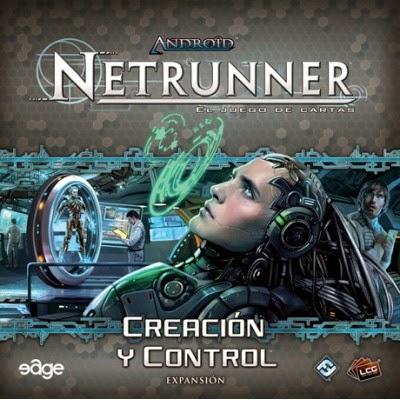 Netrunner expansión Creación y Control