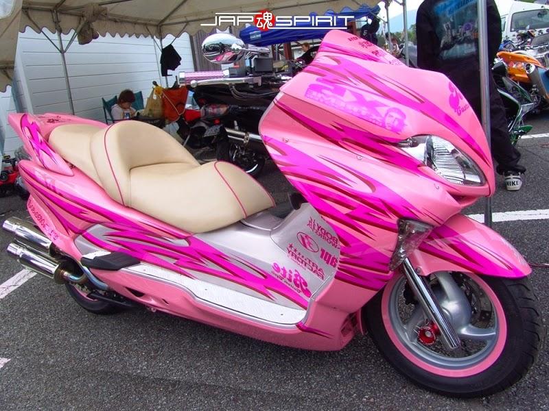 Foto Honda Forza MF07 Pink
