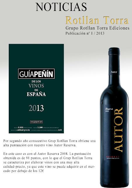 autor reserva vino del priorat grupo rotllan torra