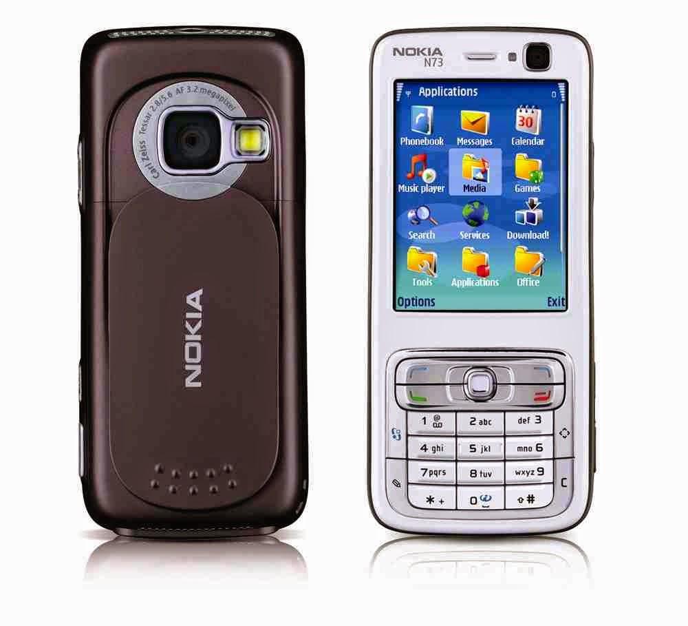 "Spesifikasi Dan Harga Nokia N73 Keluaran 2006-2007, Berbasis Symbian Serta Layar 2.4"" Inch"