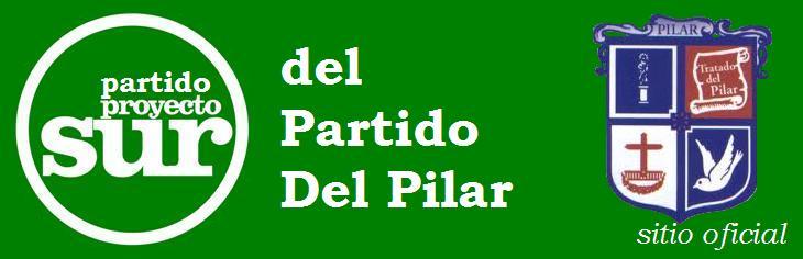 ::Sitio Oficial del Partido Proyecto Sur - Partido Del Pilar-::