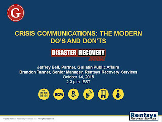 Crisis Communications: The Modern Do's and Don'ts Presentation Slide