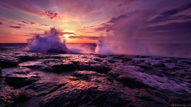 chọn lọc ảnh nền sóng biển