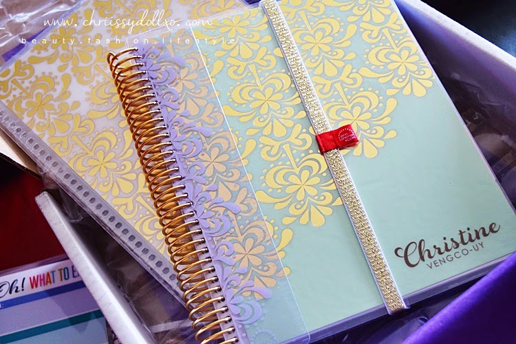 Erin Condren 2015 Foil Life Planner Gold Edition in Spearmint : Overview and What's Inside