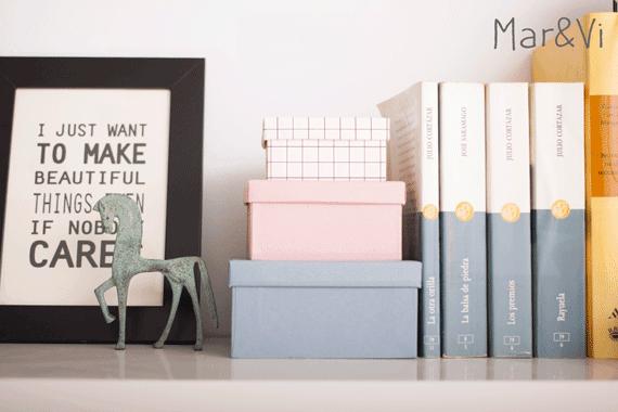 decorar con cajas