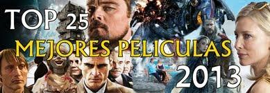 TOP 25 Mejores Películas 2013