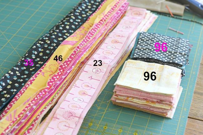 Blue Elephant Stitches: {Jacob's Ladder Value Quilt} materials ... : quilt materials - Adamdwight.com