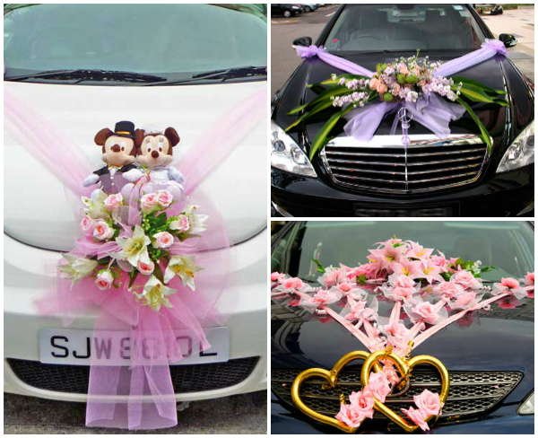 Wedding car decor trend in pakistan sadeestyle beauty for Auto decoration in pakistan