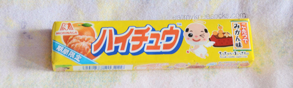Each Kawaii Box comes with a special Asian snack or candy, like this mandarin Hi-Chew.
