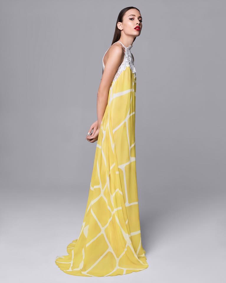Φορεμα maxi coctail σιφον