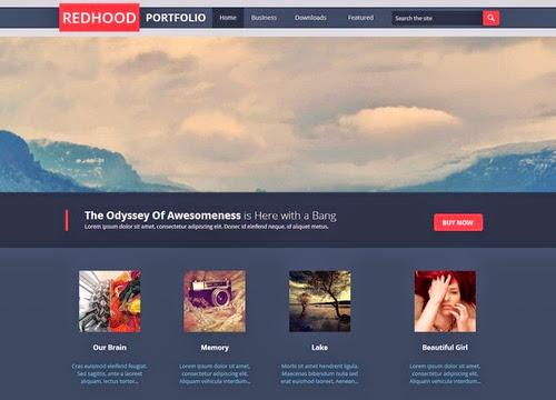 Conseil Iscomigoo #1: Sélection de templates Blogger, Redhood