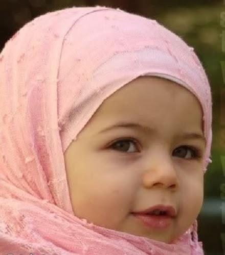 Les plus belles photos bébés voilées