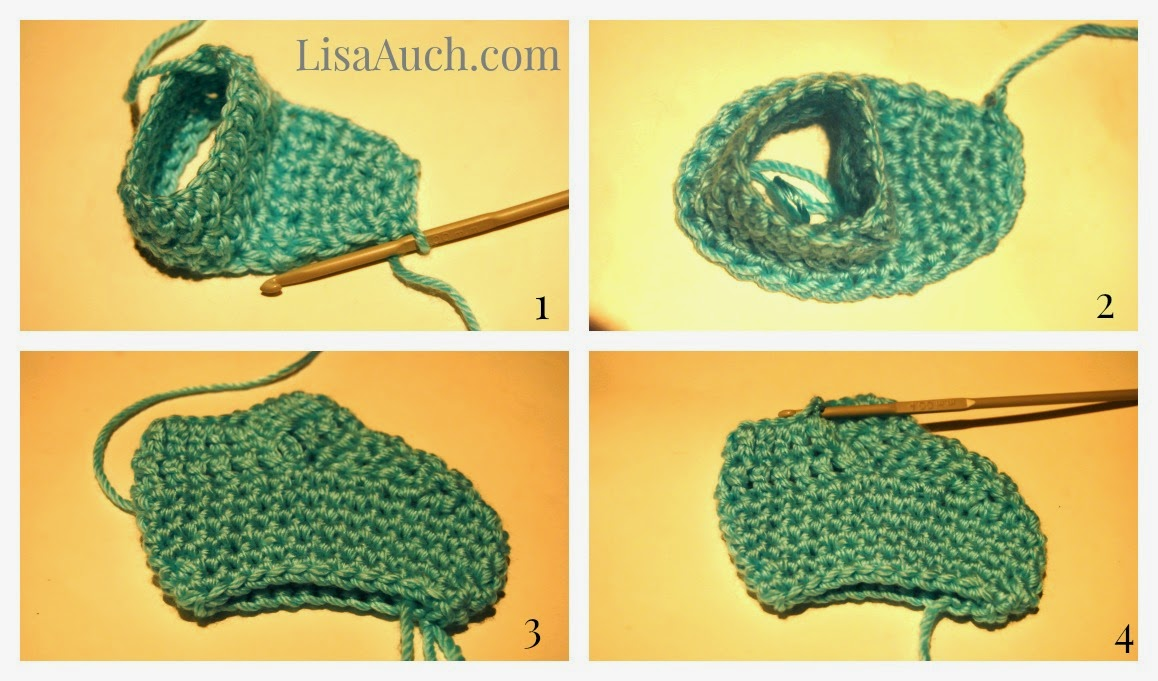 Free Crochet Patterns and Designs by LisaAuch: May 2013