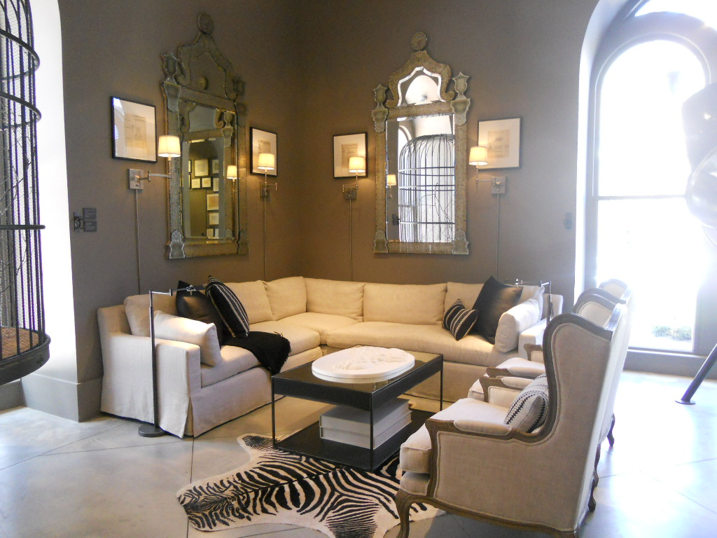 Sixties60style Restoration Hardware Boston Store Interiors