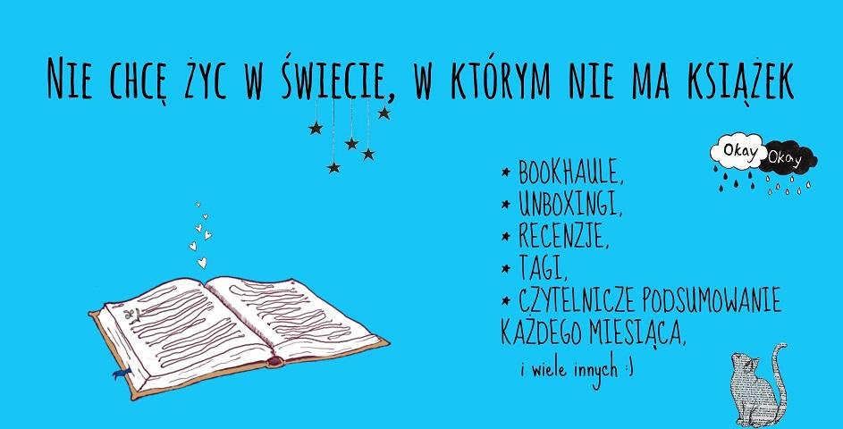 Nie chcę żyć w świecie, w którym nie ma książek.