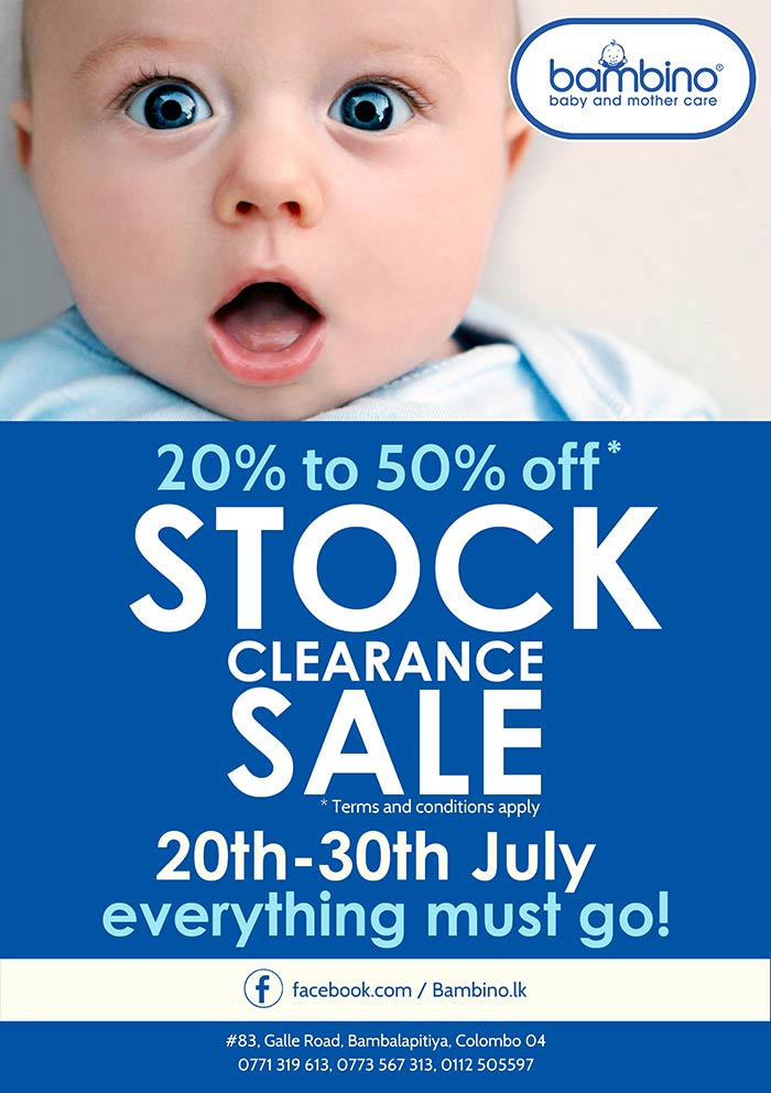 Baby and Mother Care - 20% - 50% Clearance.