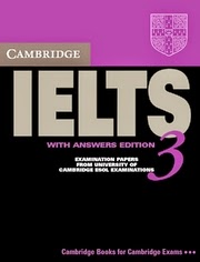 Download Cambridge IELTS 3 With PDF And Audio